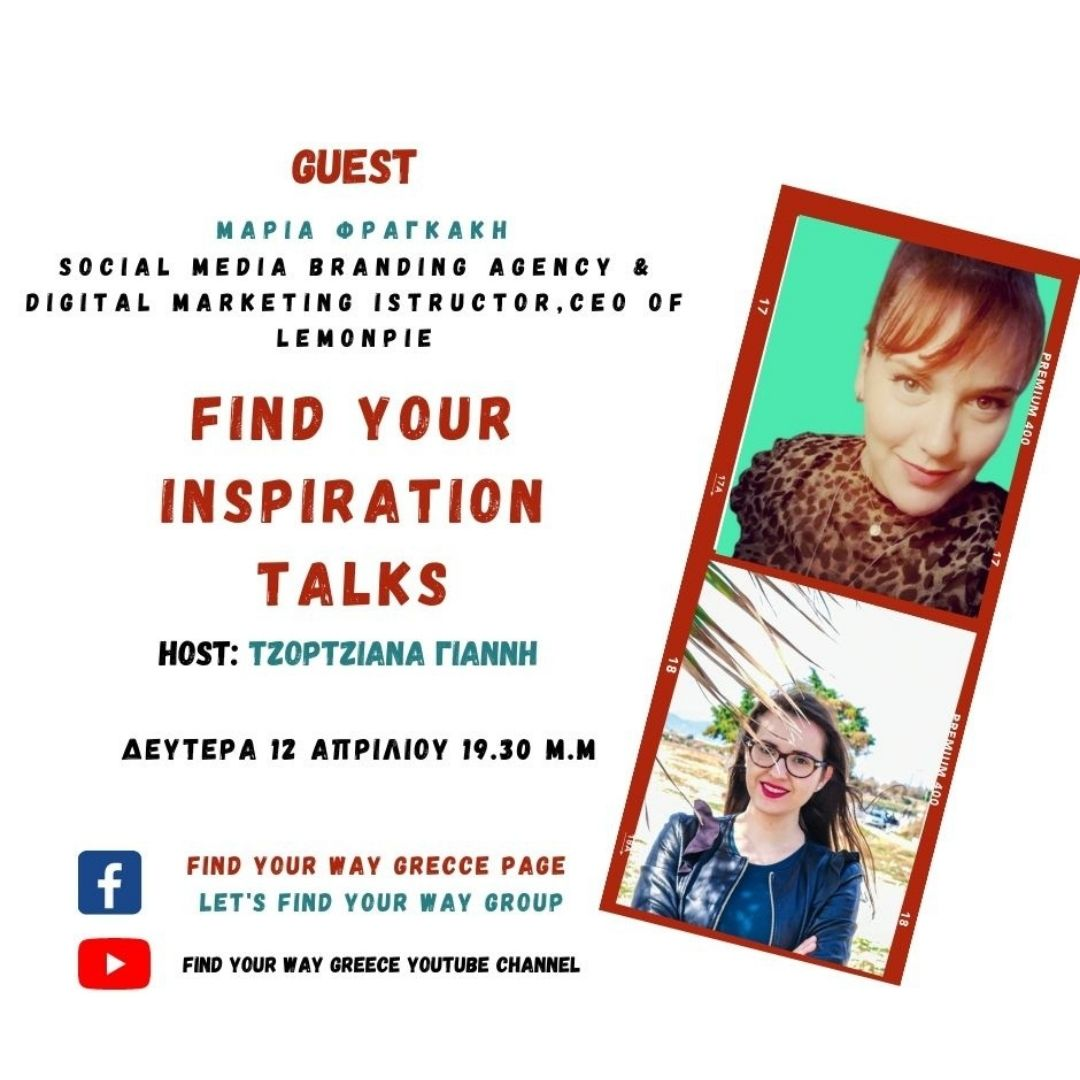 Find your inspiration Talks